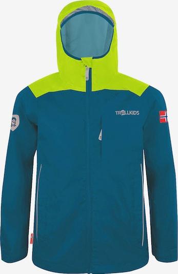TROLLKIDS Outdoor jacket 'BERGEN' in Navy / Light green, Item view