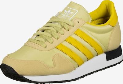 ADIDAS ORIGINALS Sneakers low 'USA 84' in beige / dark yellow / light green, Item view