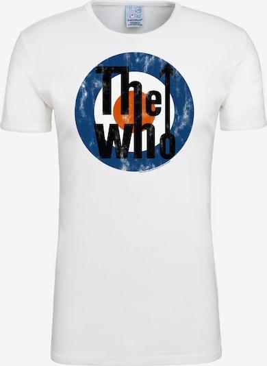 LOGOSHIRT T-Shirt 'The Who' in mischfarben / weiß, Produktansicht