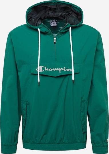 Geacă de primăvară-toamnă Champion Authentic Athletic Apparel pe verde iarbă / alb, Vizualizare produs