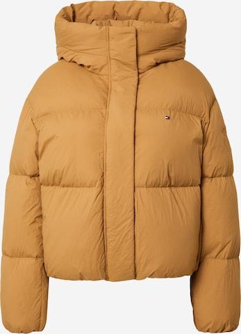 TOMMY HILFIGER Zimná bunda - Béžová