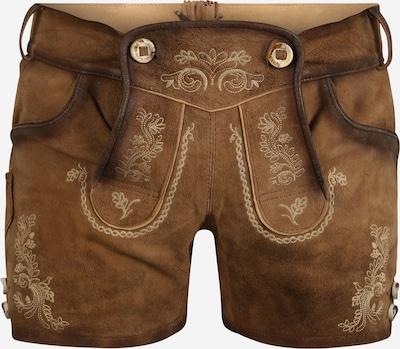 MARJO Pantalon folklorique en beige / noisette, Vue avec produit