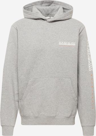 Sweat-shirt 'B-ROEN' NAPAPIJRI en gris