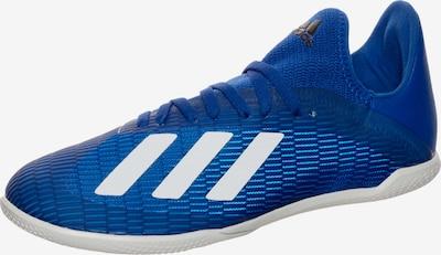 ADIDAS PERFORMANCE X 19.3 Indoor Fußballschuh Kinder in himmelblau / weiß, Produktansicht