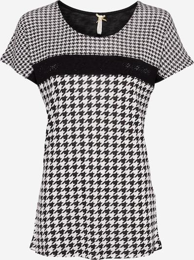 Key Largo Shirt in de kleur Zwart / Wit, Productweergave