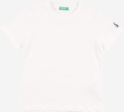 UNITED COLORS OF BENETTON Shirt in weiß, Produktansicht