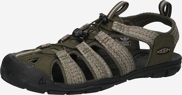 Sandale de la KEEN pe verde