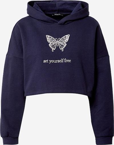 Trendyol Sweatshirt in blau / weiß, Produktansicht