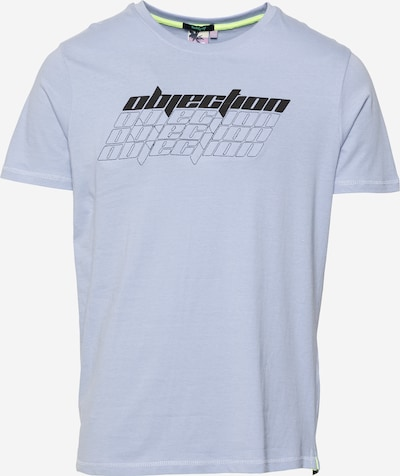 Tricou 'Miro' Hailys Men pe albastru fum / negru / alb, Vizualizare produs
