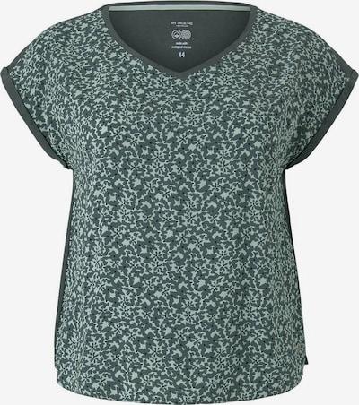 MY TRUE ME T-shirt en émeraude / vert pastel, Vue avec produit