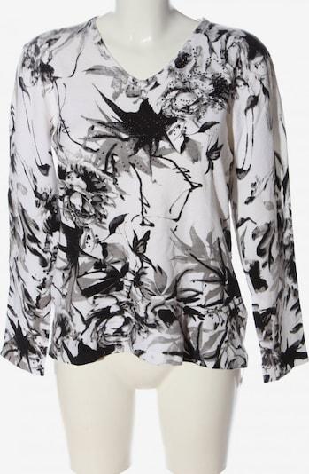 Ovanti V-Ausschnitt-Pullover in XL in schwarz / weiß, Produktansicht
