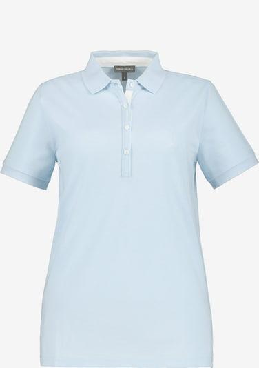 Gina Laura Poloshirt in hellblau, Produktansicht