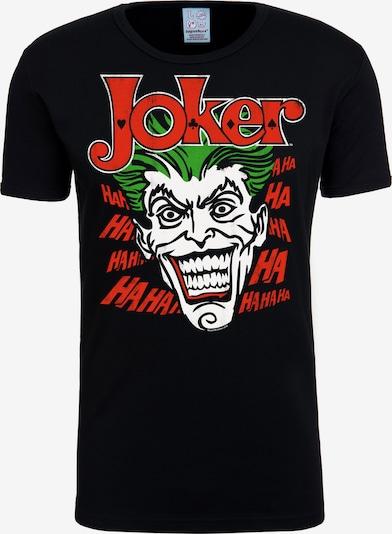 LOGOSHIRT T-Shirt 'The Joker' in schwarz, Produktansicht