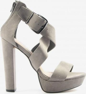 Daisy Street High Heel Sandaletten in 39 in Grau