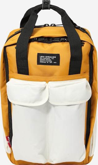 LEVI'S Rygsæk i gul / hvid, Produktvisning