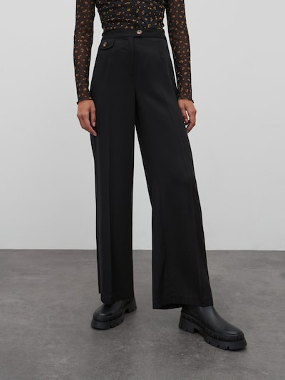 EDITED Hose 'April' in schwarz, Modelansicht