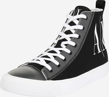 Sneaker alta di ARMANI EXCHANGE in nero