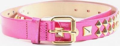 H&M Nietengürtel in XS-XL in gold / lila, Produktansicht