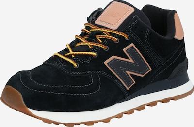 new balance Sneaker in hellbraun / schwarz, Produktansicht