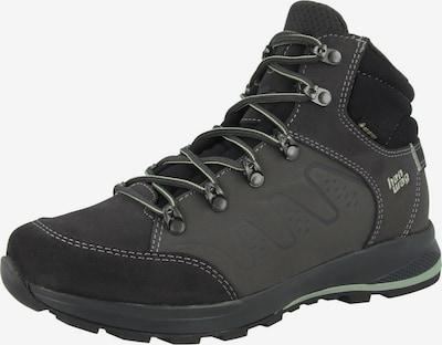HANWAG Boots 'Torsby Lady GTX' in de kleur Grafiet / Zwart / Wit, Productweergave