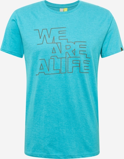 Tricou Alife and Kickin pe albastru / gri / negru, Vizualizare produs