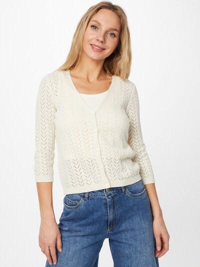 VERO MODA Knit cardigan 'CADDIE' in Cream, View model