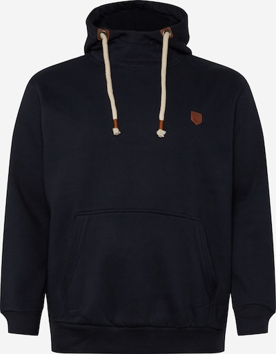 Jack & Jones Plus Mikina 'JPRBLUTOM SWEAT HIGH NECK HOOD STS PS' - námořnická modř, Produkt