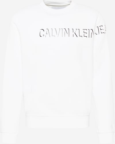 Calvin Klein Jeans Sweatshirt in Black / White, Item view