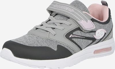 Dockers by Gerli Sneaker in grau / graumeliert / rosa, Produktansicht