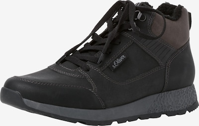 s.Oliver Lace-Up Boots in Brown / Black / White, Item view