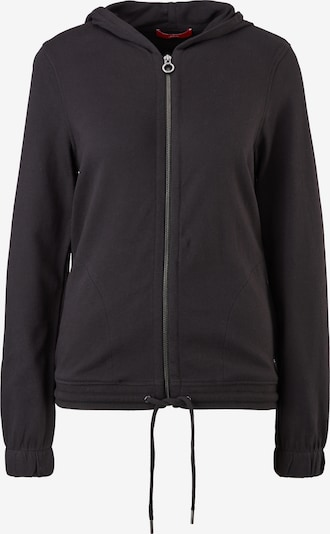 s.Oliver Sweat jacket in Black, Item view