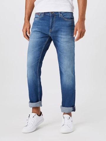 Tommy Jeans Farkut 'SCANTON' värissä sininen