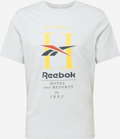 Reebok Classic Majica u noćno plava / žuta / svijetlosiva / pastelno crvena / crna, Pregled proizvoda