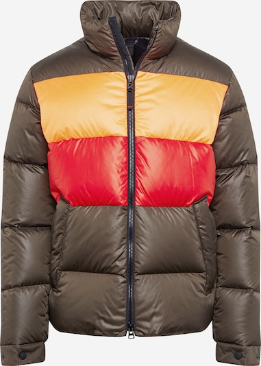 Bogner Fire + Ice Tussenjas 'GAVIN-D' in de kleur Bruin / Sinaasappel / Rood, Productweergave