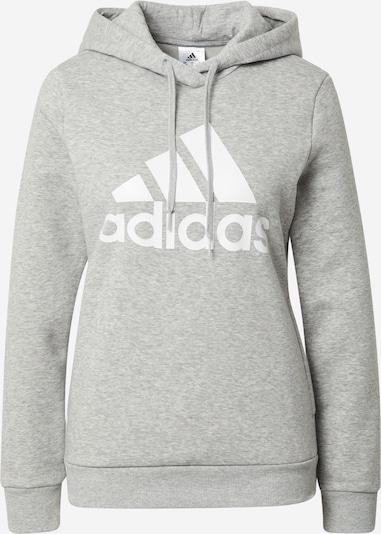 ADIDAS PERFORMANCE Sportiska tipa džemperis raibi pelēks / balts, Preces skats