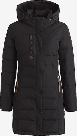 khujo Wintermantel ' Delinas ' in de kleur Zwart, Productweergave