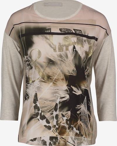 Betty & Co T-Shirt in beige / nude / hellbeige / schwarz / weiß, Produktansicht
