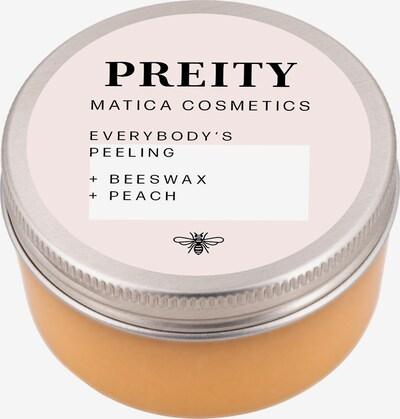 Matica Cosmetics Körperpeeling 'Preity Pfirsich' in orange, Produktansicht