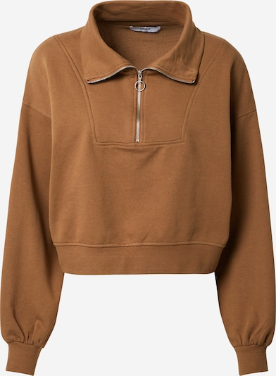 ONLY Sweatshirt 'ONLArden' in braun, Produktansicht