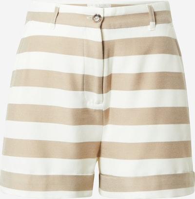 Guido Maria Kretschmer Collection Shorts 'Dana' in beige / weiß, Produktansicht