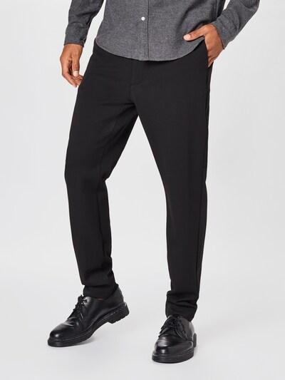 elvine Pantalon chino 'Crimson' en noir, Vue avec modèle