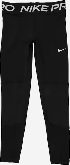 NIKE Sports trousers in light grey / black / white, Item view