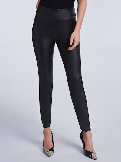 SET Leggings in schwarz, Modelansicht
