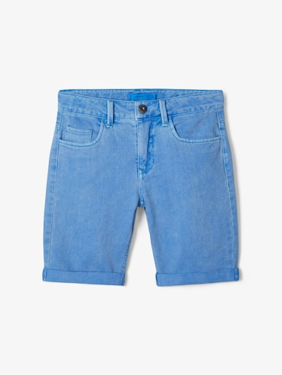 NAME IT Shorts in blue denim: Frontalansicht