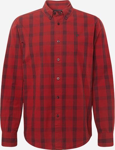 MUSTANG Hemd 'Clemens' in dunkelblau / rot, Produktansicht