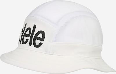 CIELE ATHLETICS Müts 'Trooper' must / valge, Tootevaade