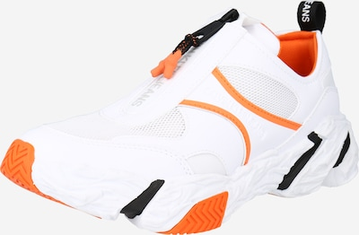 Sportbačiai be auliuko iš Calvin Klein Jeans , spalva - oranžinė / juoda / balta, Prekių apžvalga