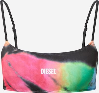DIESEL Bikinitop 'HELLEN' in blau / grün / pink / schwarz, Produktansicht