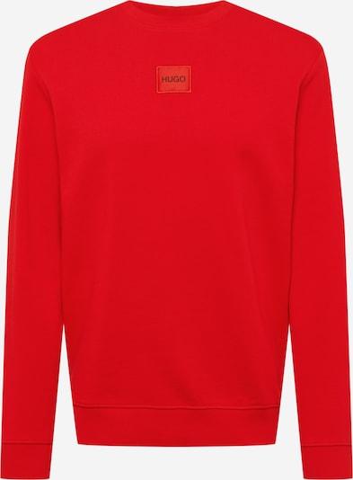 HUGO Sweat-shirt 'Diragol' en rouge feu, Vue avec produit