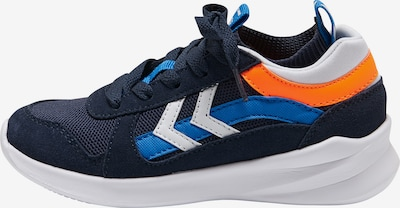 Hummel Sneaker in blau / navy / orange / weiß, Produktansicht